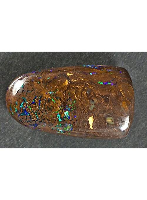 Boulder opál z Austrálie 22x13mm