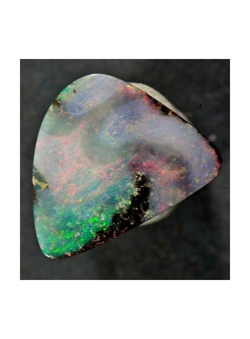 Boulder opál z Austrálie 18x14mm