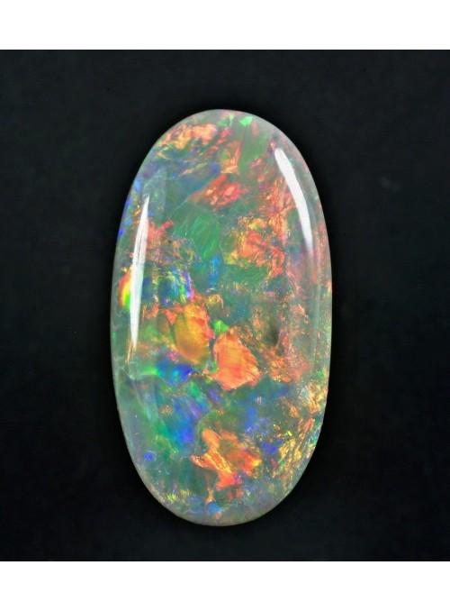 Drahý opál z Austrálie 13x7mm