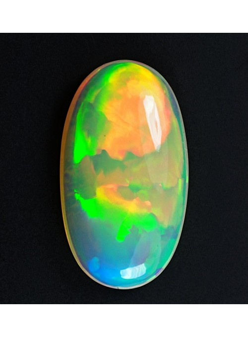Drahý opál z Etiopie 20x12mm
