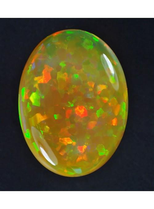 Drahý opál z Etiopie 21x16mm