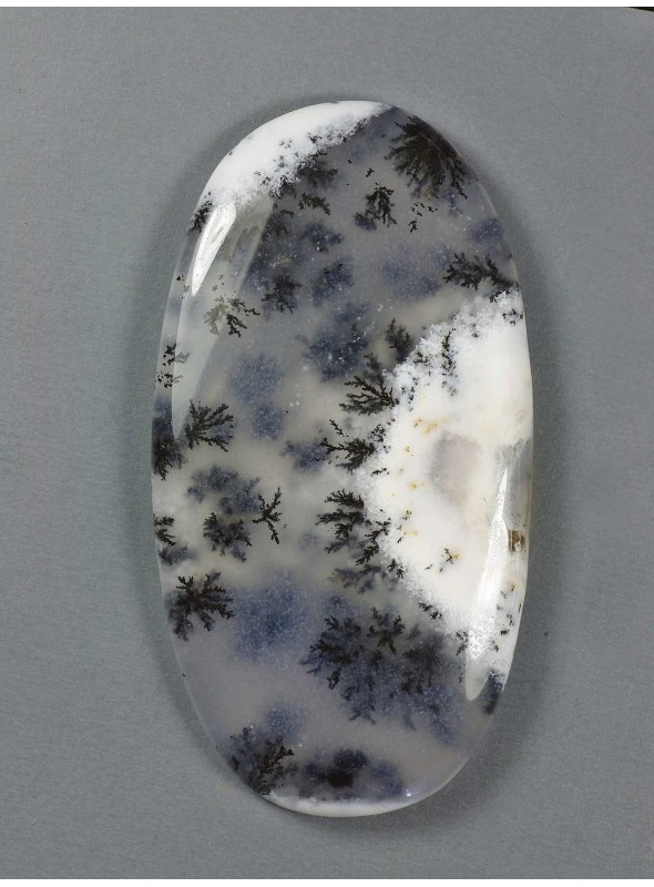 Mechový opál 48x26mm