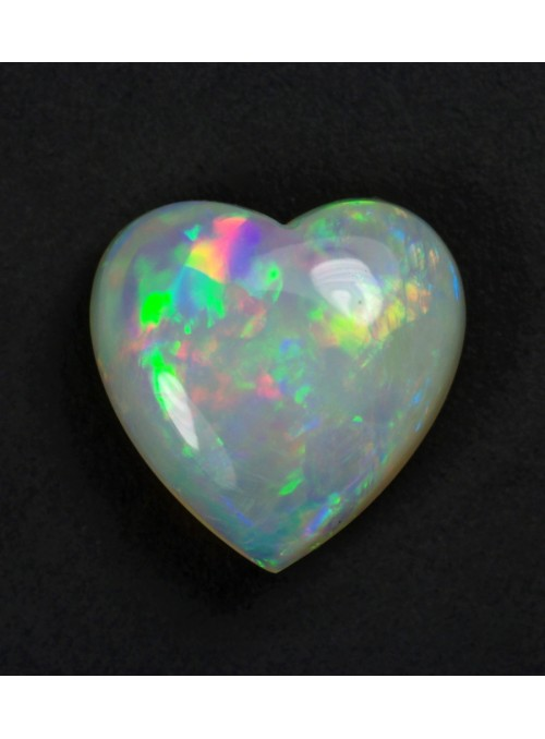 Etiopské opály - pár  10x7mm