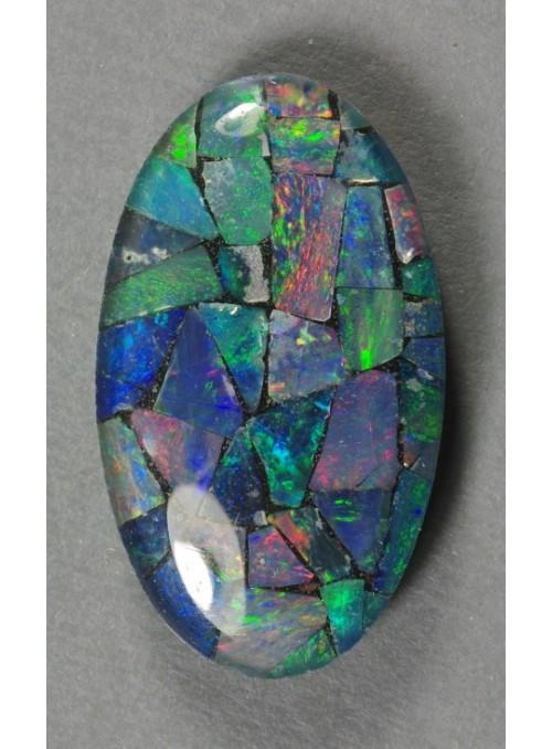 Mozaika z drahých opálů - Triplet