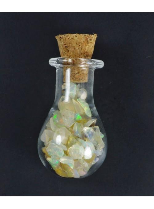 Speciální lahvička s etiopskými opály