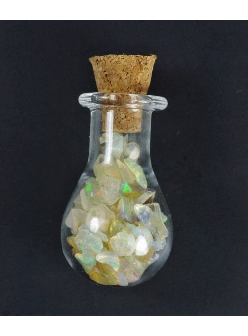 Rough opal - vial 26x15mm