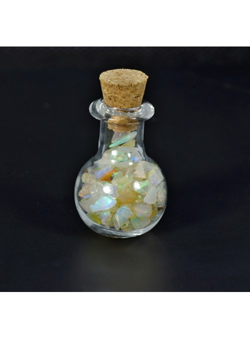 Rough opal - vial 24x17mm