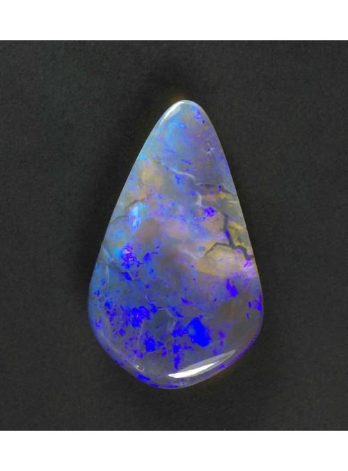 Černý opál z Austrálie 21x13mm