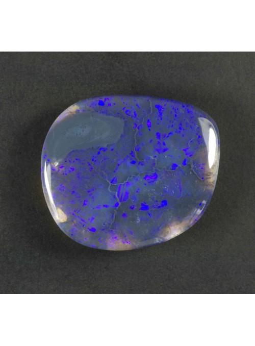Černý opál z Austrálie 19x16mm