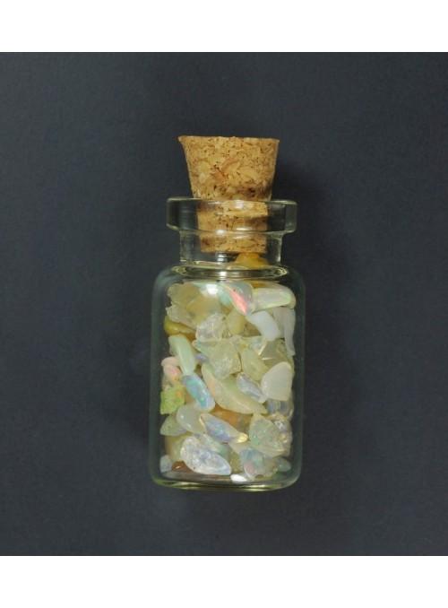 Rough opal - vial 24x13mm