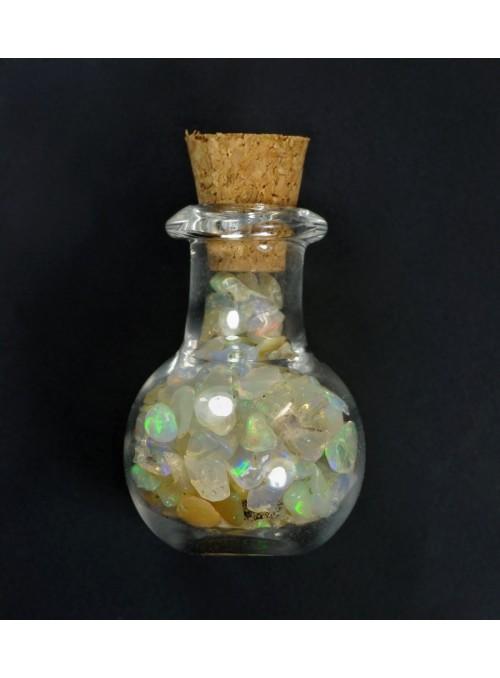 Lahvička s etiopskými opály