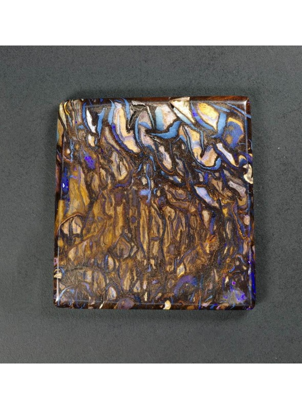 Boulder Yowah opál z Austrálie 27x26mm
