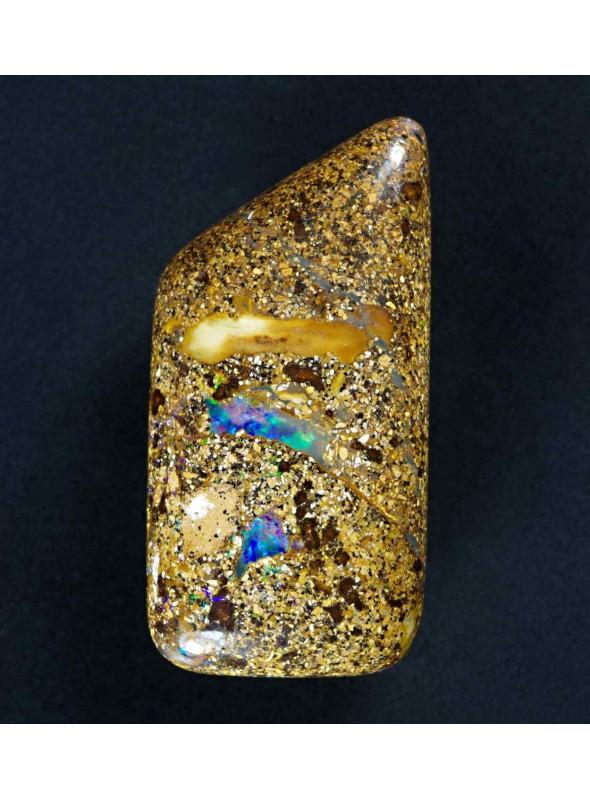 Boulder opál z Austrálie 28x21mm