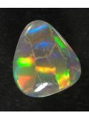 Drahý opál z Austrálie - 8x7mm - Rolling flash