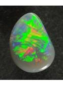Drahý opál z Austrálie - 7x5mm - Flash