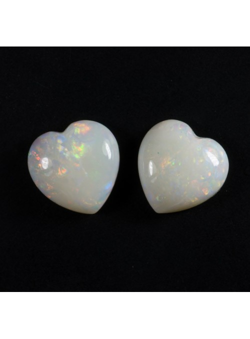 Opálové srdce z Austrálie 8x8mm