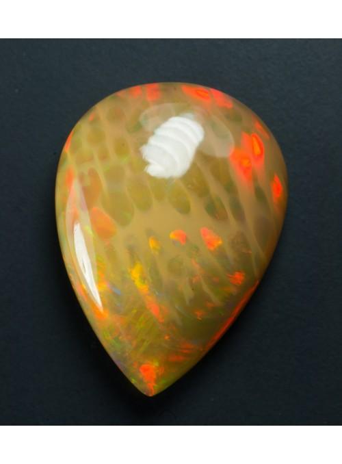 Drahý opál z Etiopie 16x12mm