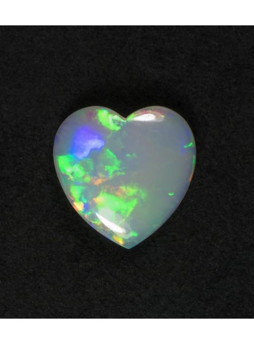 Opálová srdce z Austrálie 8x8mm
