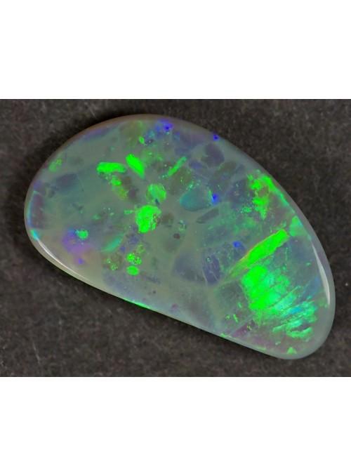 Drahý opál z Austrálie - 2,24ct