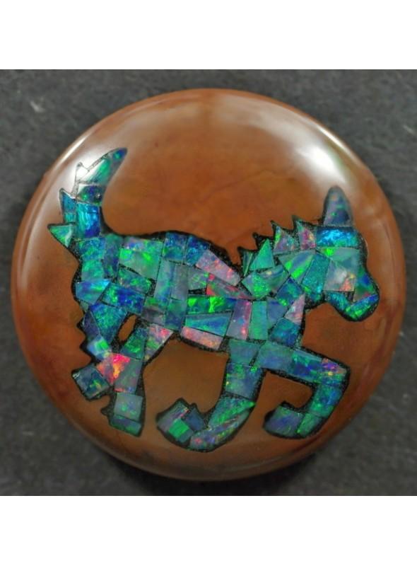Opálová mozaika  25x6mm