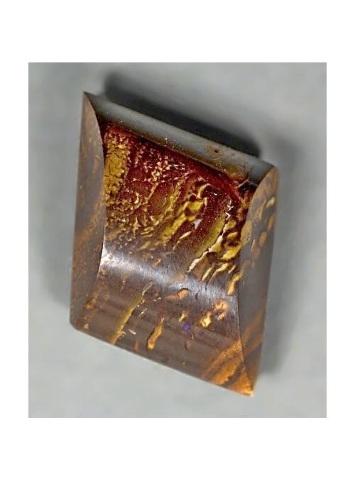 Boulder opál bez barvoměny 14x13