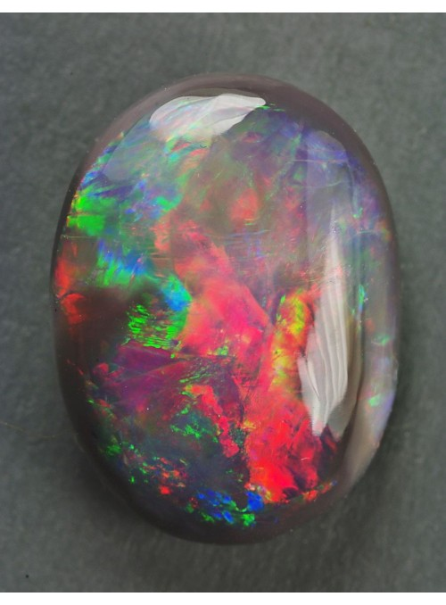 Špičkový černý opál z Austrálie