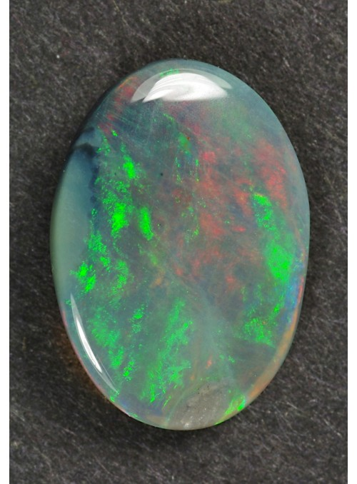 Drahý opál z AU - Chaff pattern